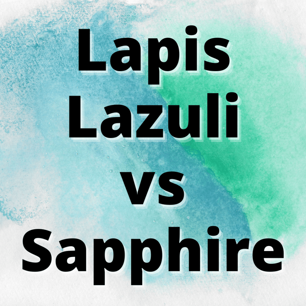lapis lazuli vs sapphire