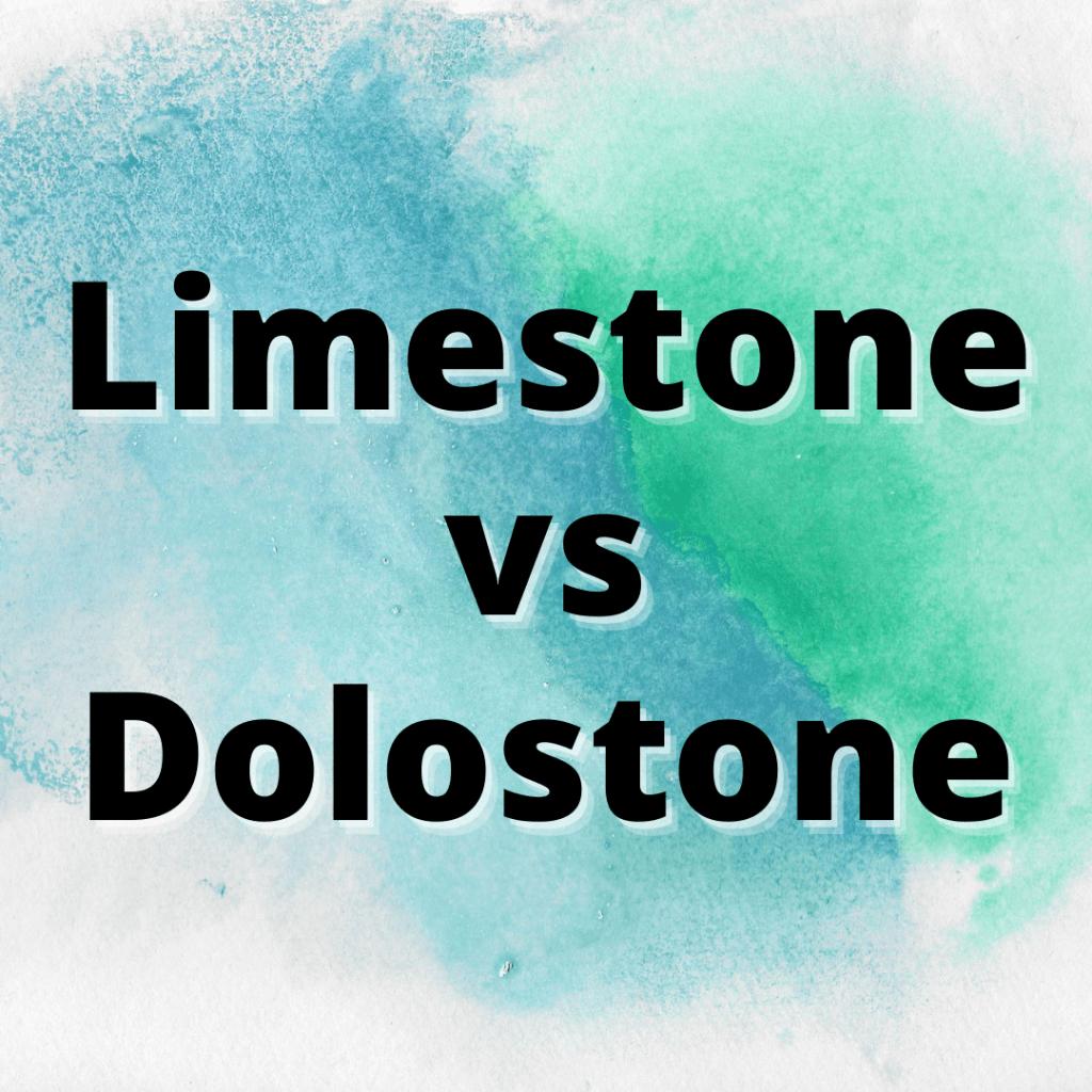 limestone vs dolostone