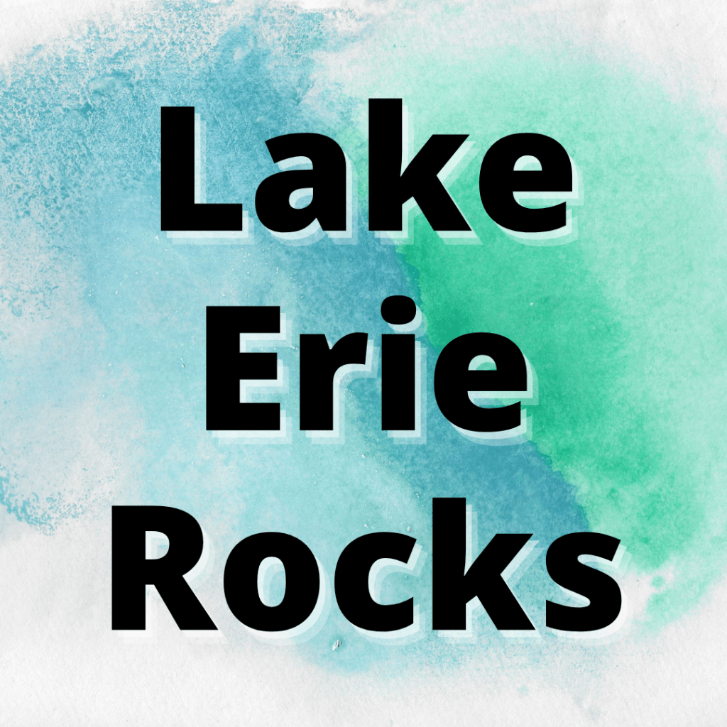 types of rocks in lake erie