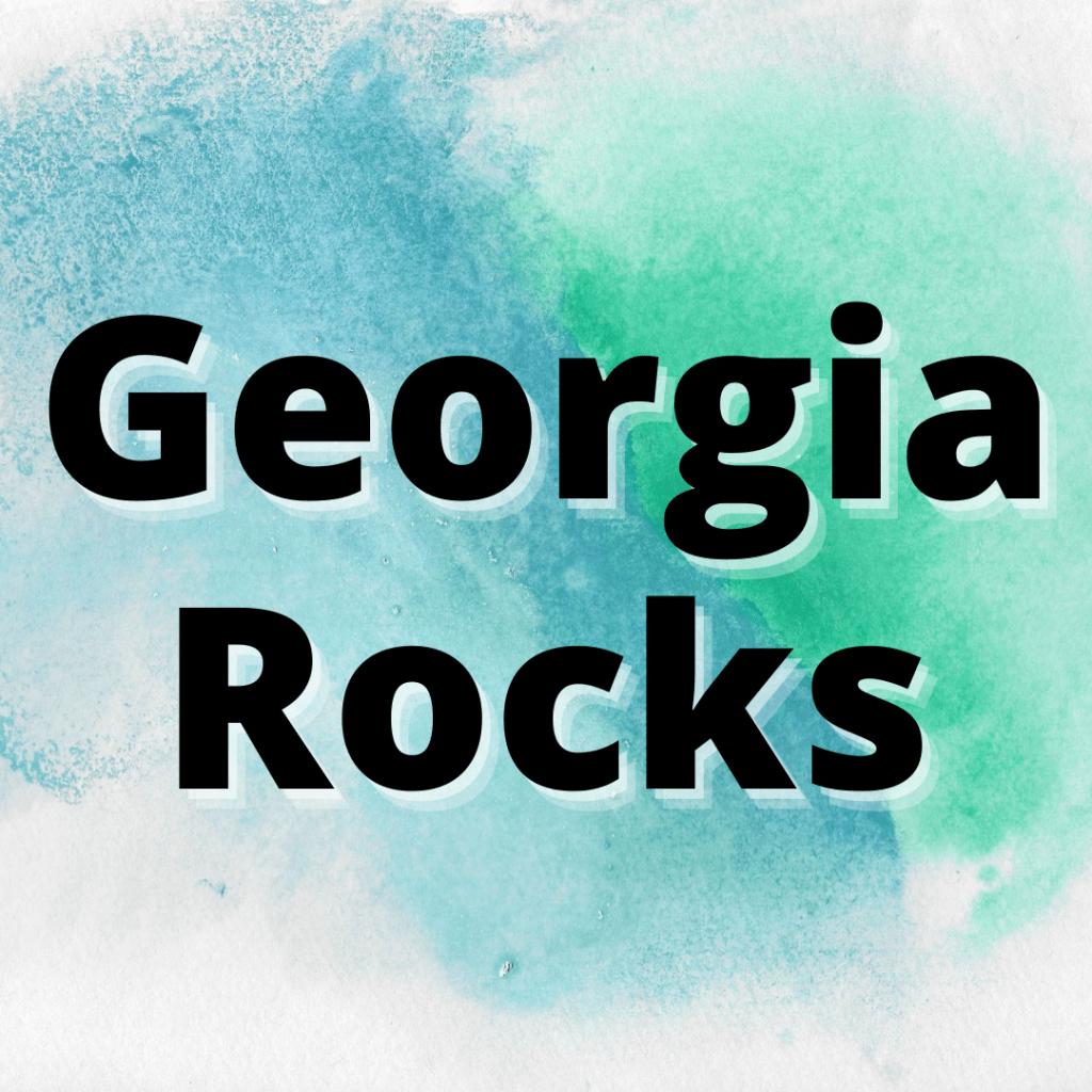 types of rocks found in georgia