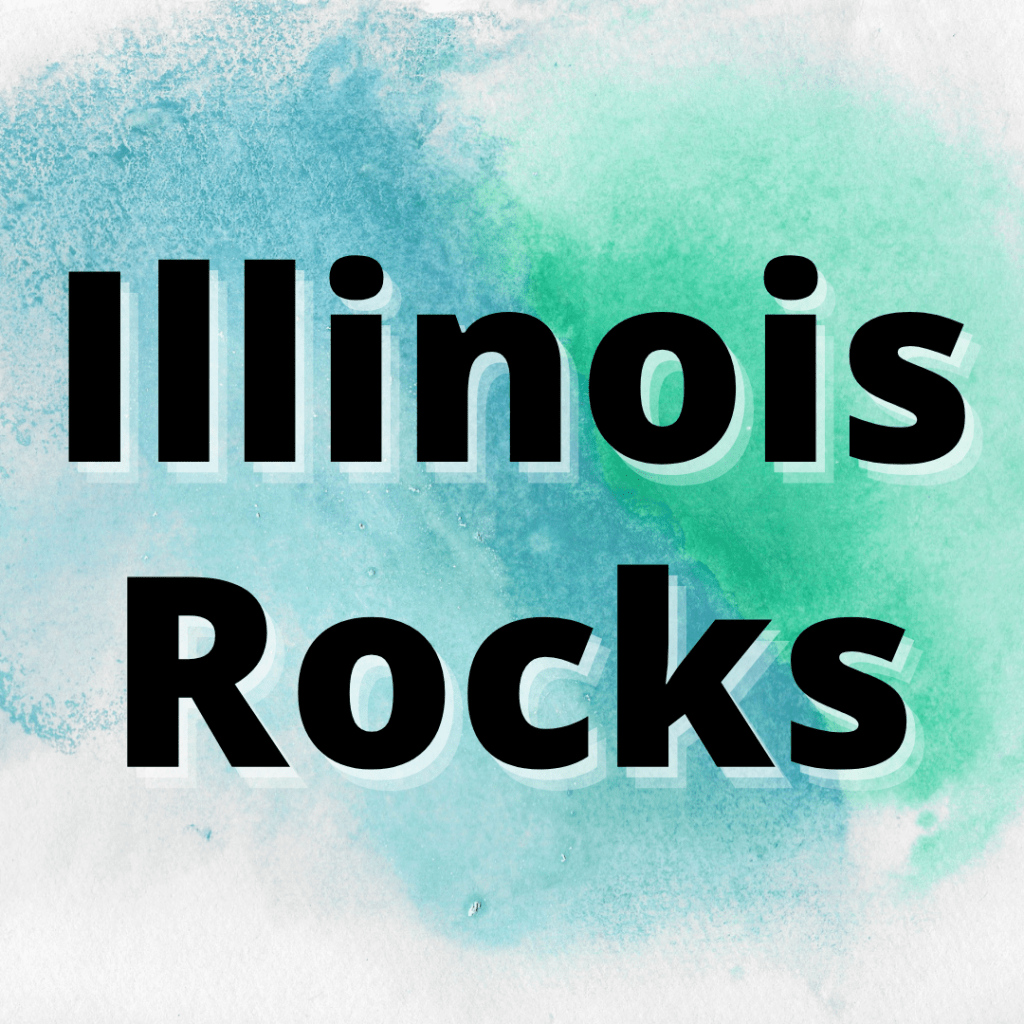 types of rocks found in illinois
